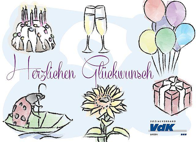 Spruche Zum 65 Geburtstag Karte Mit Schonem Spruch Zum