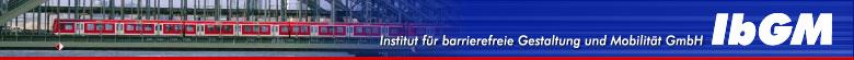 Logo des IbGM - Institut für barrierefreie Gestaltung und Mobilität GmbH
