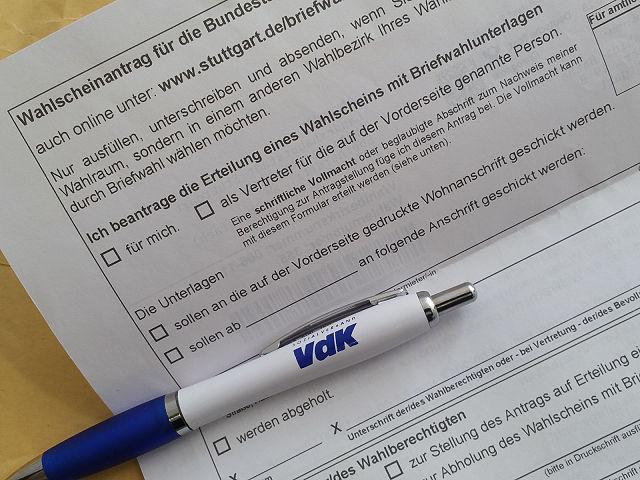 Briefwahl Ist Vor Dem Wahltag Sozialverband Vdk Baden Württemberg