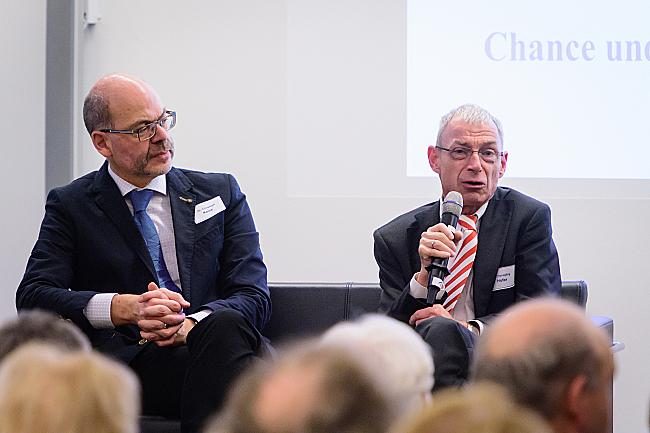 Christoph Kainz und Dr. Hansjörg Hofer