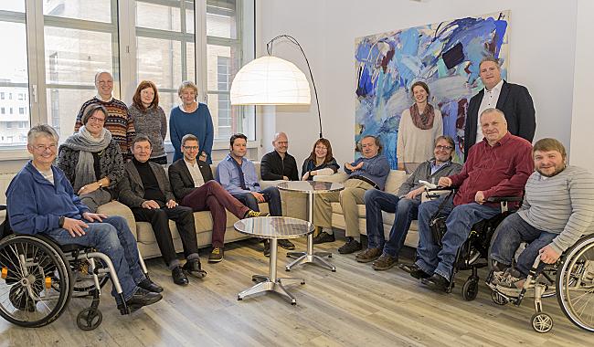 Gruppenfoto der Mitglieder des DBR-Arbeitsausschusses
