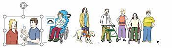 Behinderte Menschen