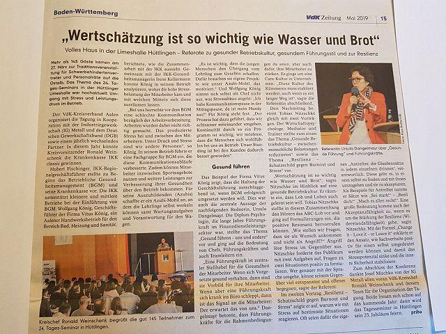 24. Tagesseminar 2019 - Sozialverband VdK Baden-Württemberg