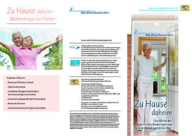kampagne zu hause daheim bayerische staatsministerium f r arbeit und sozialordnung familie. Black Bedroom Furniture Sets. Home Design Ideas