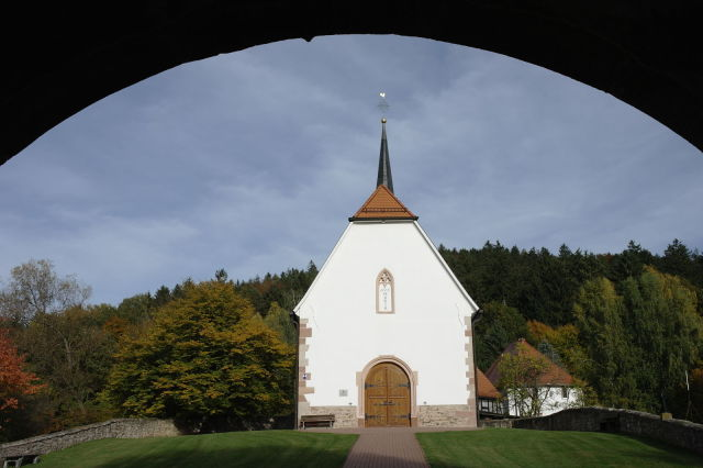 Burgbergkapelle in Bieber
