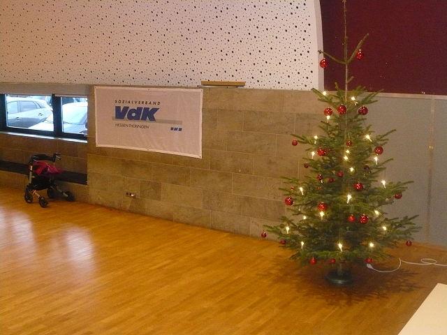 Weihnachtsfeier Hessen.Weihnachtsfeier 2018 Im Elgerhaus Sozialverband Vdk Hessen Thüringen