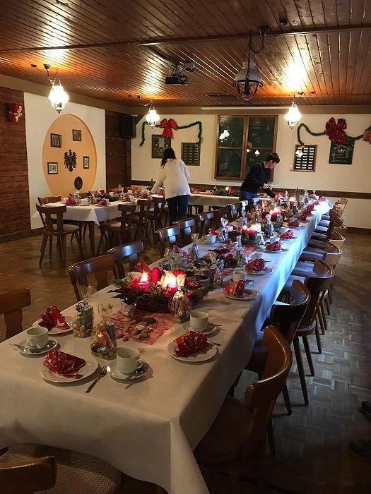 Weihnachtsfeier Hessen.Weihnachtsfeier Am 15 12 2018 Im Schützenhaus Sozialverband Vdk