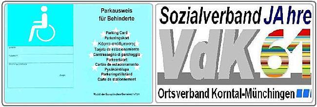 2010 09 23 Neuer Parkausweis Fur Behinderte Sozialverband Vdk Baden Wurttemberg