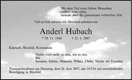 Anderl Hubach