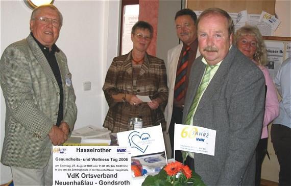 Rüppel Gelnhausen 1 hasselrother gesundheits und wellness tag am 27 august 2006