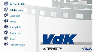 VdK Logo, Internet TV