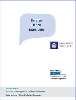 Cover Leitbild in leichter Sprache
