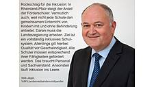 Foto Willi Jäger mit Statement