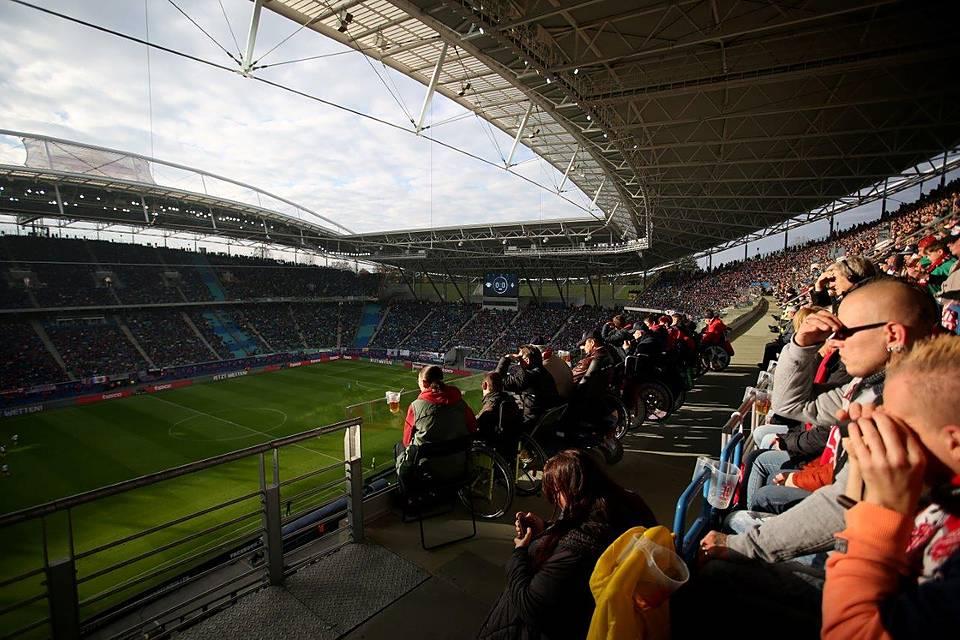 Barrierefrei Ins Stadion Sozialverband Vdk Deutschland E V