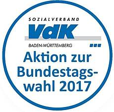 Button - Aktion zur Bundestagswahl 2017