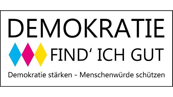 Logo: Demokratie find´ich gut