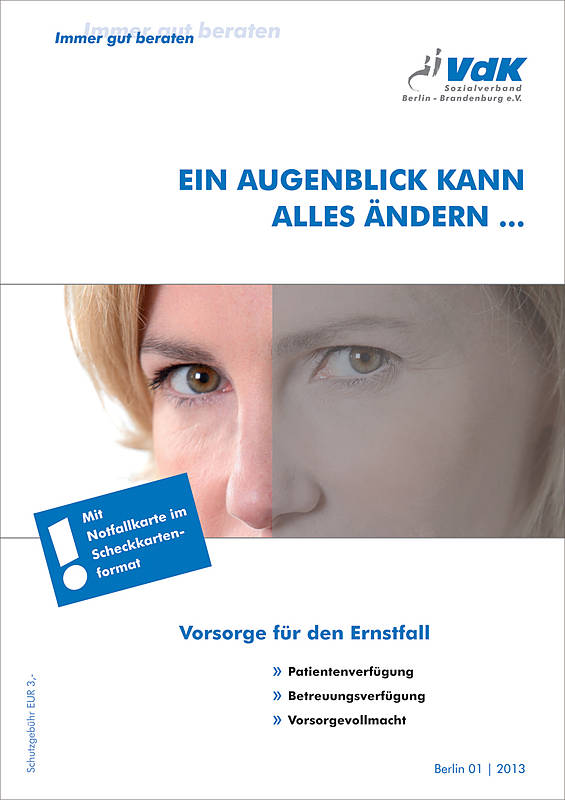 Verfügungen Und Vollmacht Leicht Gemacht Sozialverband Vdk Berlin