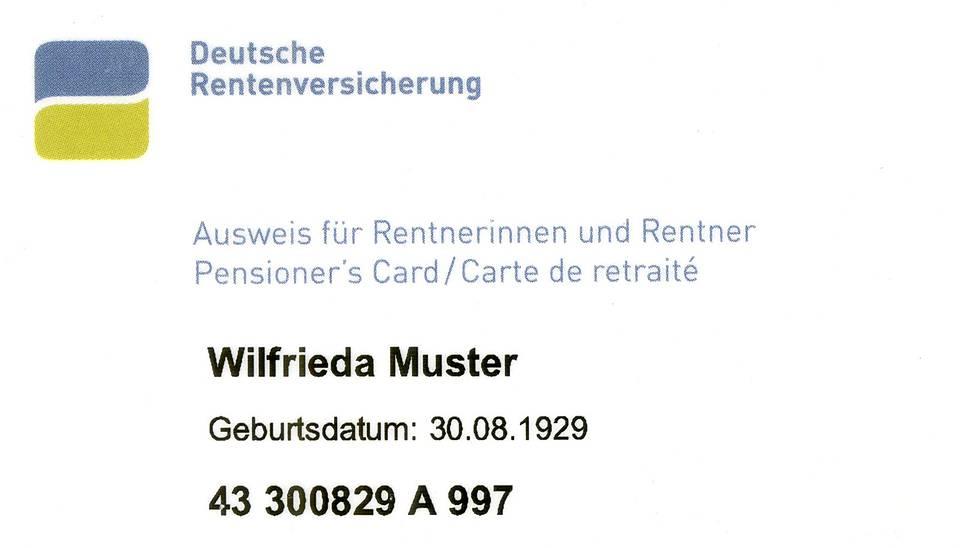 Neuer Rentenausweis Sozialverband Vdk Nordrhein