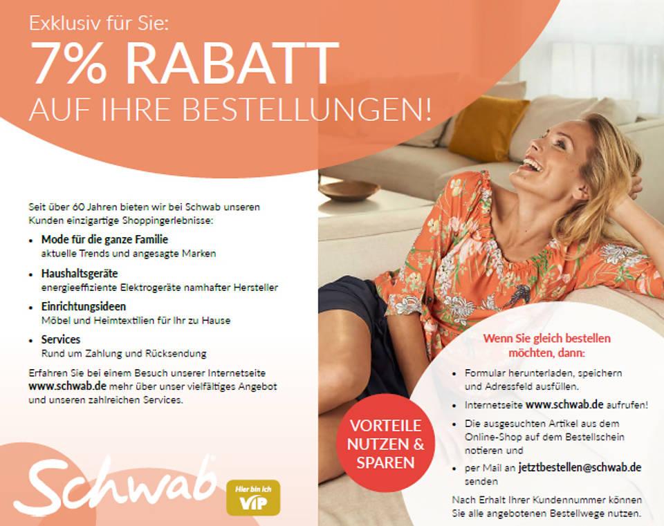 7 % Sparvorteil bei Schwab | Sozialverband VdK Niedersachsen