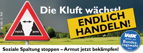 Banner der VdK-Aktion Endlich handeln
