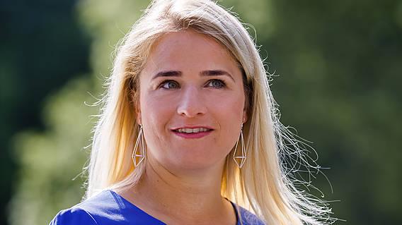 Portraitfoto von VdK-Präsidentin Verena Bentele