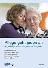 "Cover des VdK-Ratgebers ""Pflege geht jeden an"""